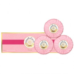ROGER GALLET COFFRET ROSE SAVON 3X100g