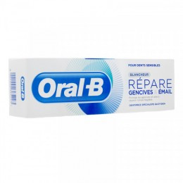 ORAL B DENTIFRICE BLANCHEUR rep gencives et email