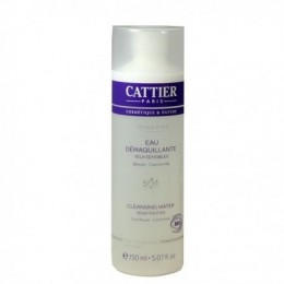 CATTIER EAU DEMAQUILLANTE YEUX SENSIBLES 150ML