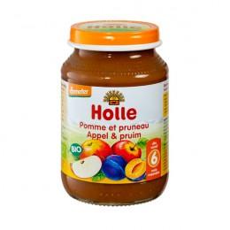 HOLLE PETIT POT COMPOTE POMME PRUNEAU 190G