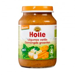 HOLLE PETIT POT BIO LEGUMES VARIES 190GR