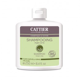 CATTIER SHAMPOING CUIR CHEVELU GRAS 250ML
