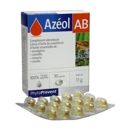 PILEJE AZEOL AB 30 CAPSULES