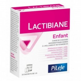 PILEJE LACTIBIANE ENFANT 10 sachets