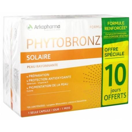 PHYTOBRONZ SOLAIRE LOT/2 BTES DE 30