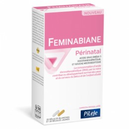 FEMINABIANE PERINATAL bte 28 gel bl+28 gel jau