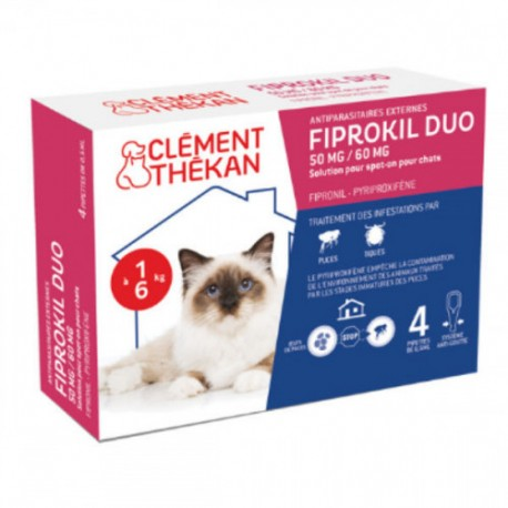 FIPROKIL DUO CHAT BTE 4