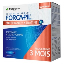 FORCAPIL FORTIFIANT KERATINE+ 120GEL+60