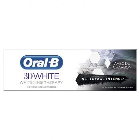 ORAL B 3D WHITE CHARBON 75ML