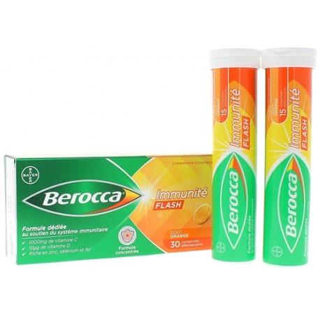 BEROCCA IMMUNITE FLASH 30CP EFF