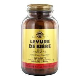 SOLGAR LEVURE DE BIERE BTE 250