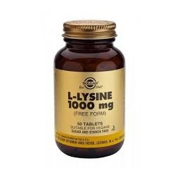 SOLGAR L-LYSINE BTE 50