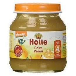 HOLLE PETIT POT BIO POIRE 125G