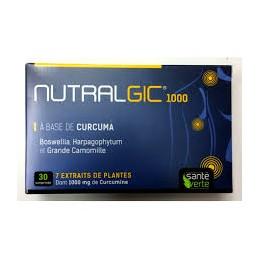 NUTRALGIC 1000 SANTE VERTE BTE 30 CP