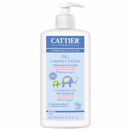 CATTIER GEL LAVANT DOUX 500ML