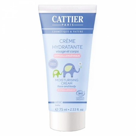 CATTIER CREME HYDRATANTE BEBE 75ML