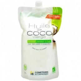 HUILE DE COCO BIO VIERGE 500ML COMPTOIR ET COMPAGNIES
